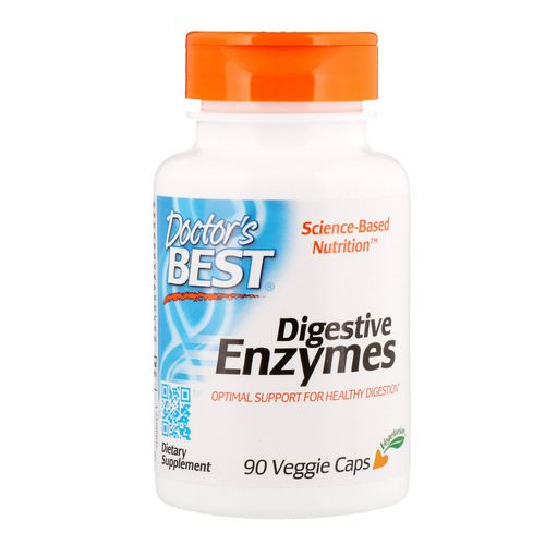 Doctor's Best, Digestive Enzymes, 90 Veggie Caps Review