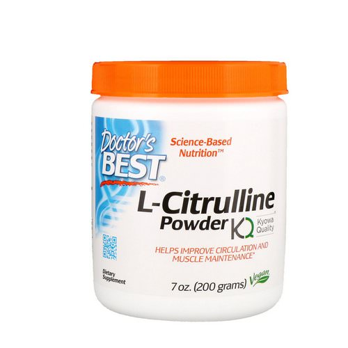 Doctor's Best, L-Citrulline Powder, 7 oz (200 g) Review