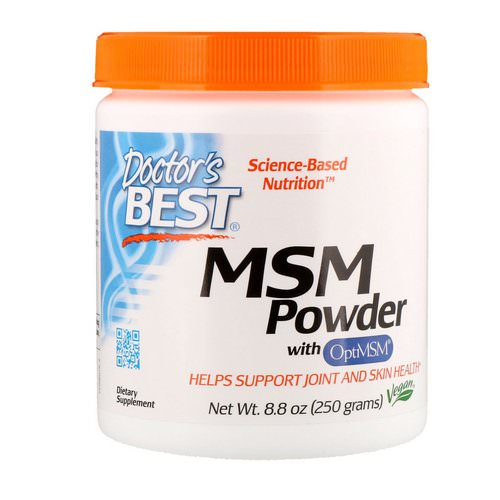Doctor's Best, MSM Powder with OptiMSM, 8.8 oz (250 g) Review