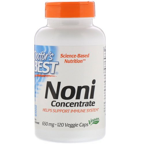 Doctor's Best, Noni Concentrate, 650 mg, 120 Veggie Caps Review