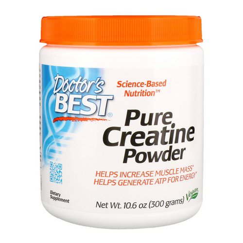 Doctor's Best, Pure Creatine Powder, 10.6 oz (300 g) Review