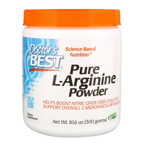 Doctor's Best, Pure L-Arginine Powder, 10.6 oz (300 g) Review