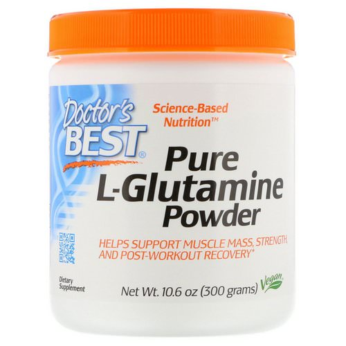 Doctor's Best, Pure L-Glutamine Powder, 10.6 oz (300 g) Review