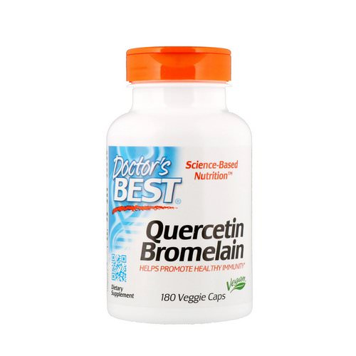 Doctor's Best, Quercetin Bromelain, 180 Veggie Caps Review