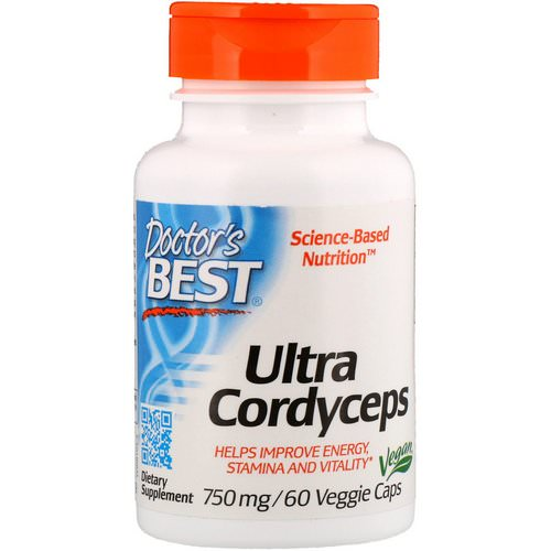 Doctor's Best, Ultra Cordyceps, 750 mg, 60 Veggie Caps Review