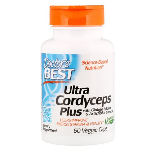 Doctor's Best, Ultra Cordyceps Plus, 60 Veggie Caps Review