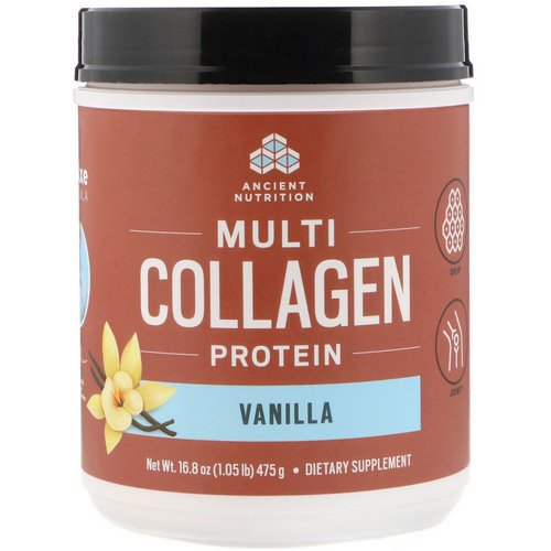 Dr. Axe / Ancient Nutrition, Multi Collagen Protein, Vanilla, 1.05 lbs (475 g) Review