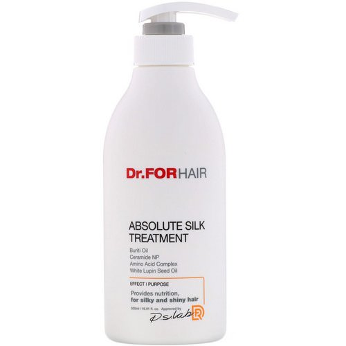 Dr.ForHair, Absolute Silk Treatment, 16.91 fl oz (500 ml) Review