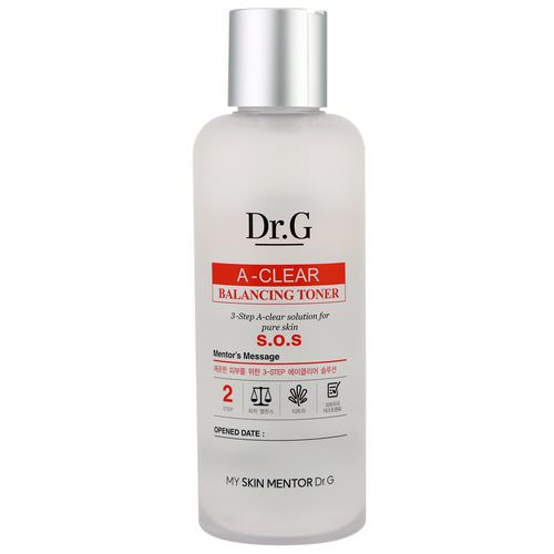 Dr. G, A-Clear, Balancing Toner, 5.74 fl oz (170 ml) Review