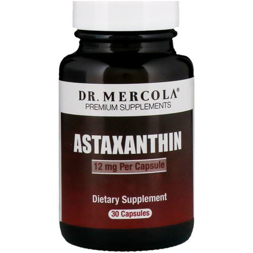 Dr. Mercola, Astaxanthin, 12 mg, 30 Capsules Review