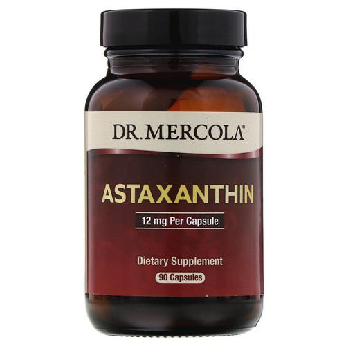 Dr. Mercola, Astaxanthin, 12 mg, 90 Capsules Review