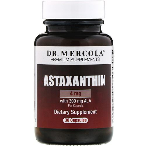 Dr. Mercola, Astaxanthin, 4 mg, 30 Capsules Review