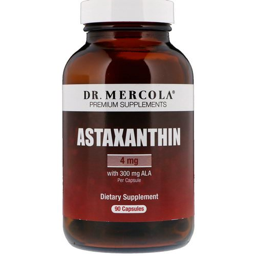 Dr. Mercola, Astaxanthin, 4 mg, 90 Capsules Review
