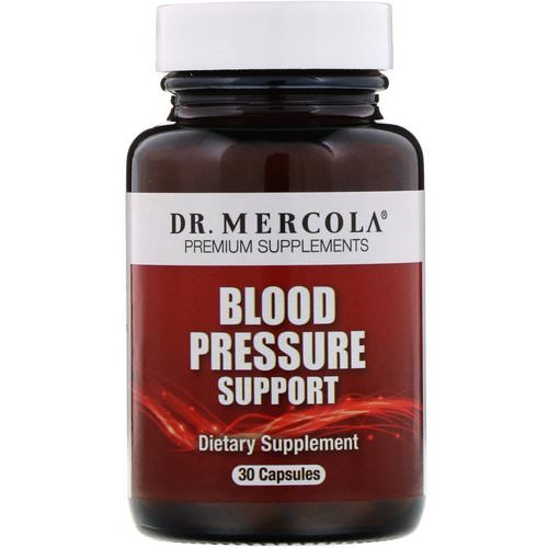 Dr. Mercola, Blood Pressure Support, 30 Capsules Review