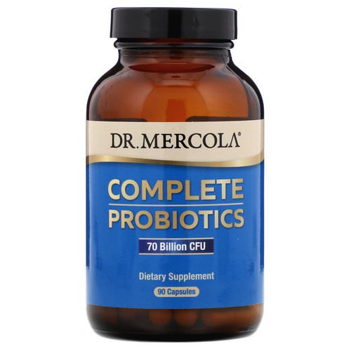 Dr. Mercola, Complete Probiotics, 70 Billion CFU, 90 Capsules Review