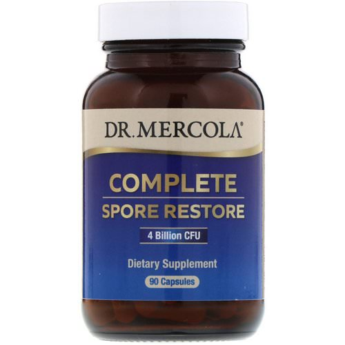 Dr. Mercola, Complete Spore Restore, 4 Billion CFU, 90 Capsules Review