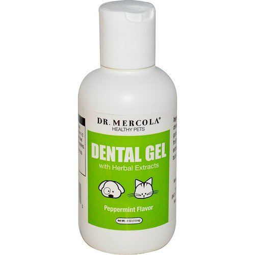 Dr. Mercola, Dental Gel, Peppermint Flavor, 4 oz (113.4 g) Review