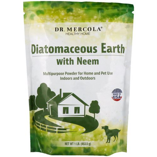 Dr. Mercola, Diatomaceous Earth with Neem, 1 lb (453.5 g) Review