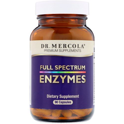 Dr. Mercola, Enzymes, Full Spectrum, 90 Capsules Review