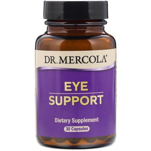Dr. Mercola, Eye Support, 30 Capsules Review