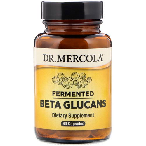 Dr. Mercola, Fermented Beta Glucans, 60 Capsules Review