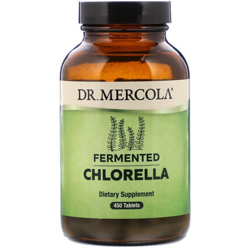 Dr. Mercola, Fermented Chlorella, 450 Tablets Review
