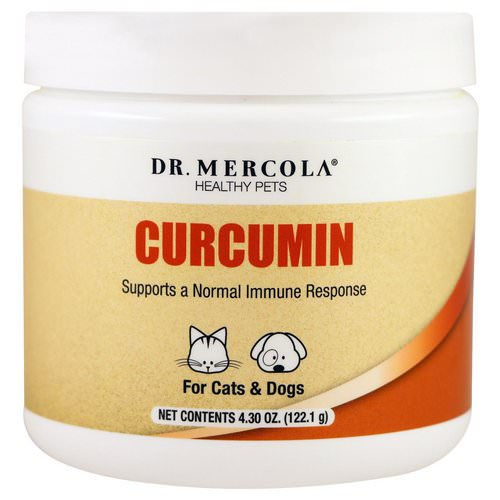 Dr. Mercola, Healthy Pets, Curcumin for Cats & Dogs, 4.30 oz (122.1 g) Review