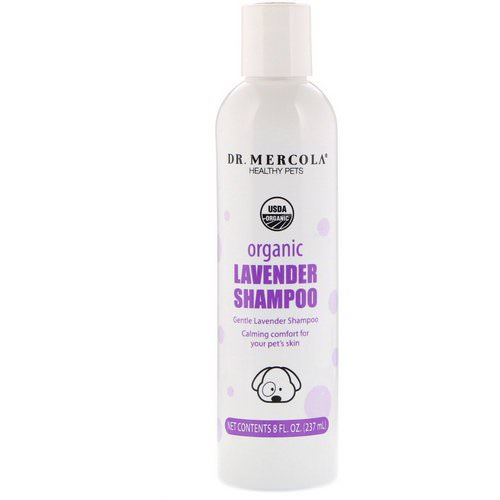Dr. Mercola, Healthy Pets, Organic Lavender Shampoo, for Dogs, 8 fl oz (237 ml) Review