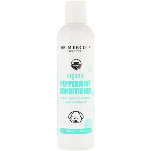 Dr. Mercola, Healthy Pets, Organic Peppermint Conditioner, for Dogs, 8 fl oz (237 ml) Review