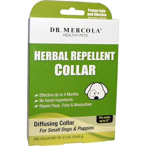 Dr. Mercola, Herbal Repellent Collar, For Small Dogs & Puppies, One Collar, 0.7 oz (19.85 g) Review