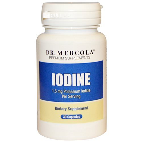 Dr. Mercola, Iodine, 1.5 mg, 30 Capsules Review