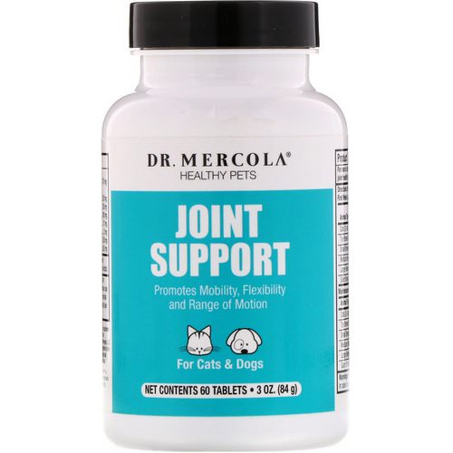 Dr. Mercola, Joint Support, For Cats & Dogs, 60 Tablets Review