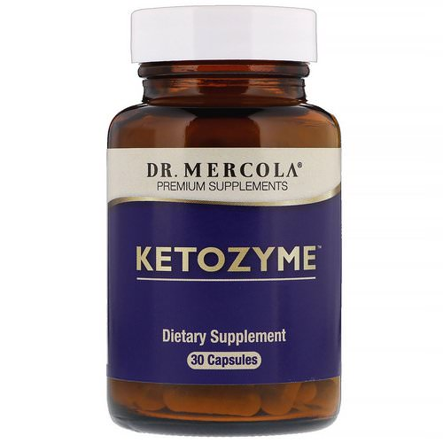 Dr. Mercola, Ketozyme, 30 Capsules Review