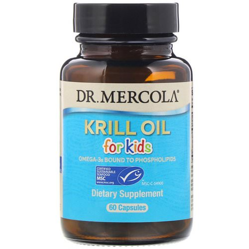 Dr. Mercola, Kids' Krill Oil, 60 Capsules Review
