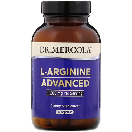 Dr. Mercola, L-Arginine Advanced, 1,000 mg, 90 Capsules Review
