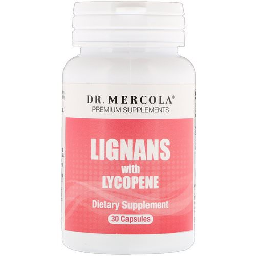 Dr. Mercola, Lignans with Lycopene, 30 Capsules Review