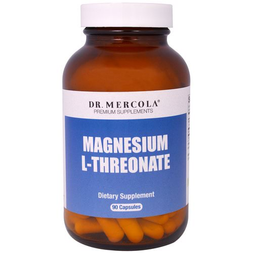 Dr. Mercola, Magnesium L-Threonate, 90 Capsules Review