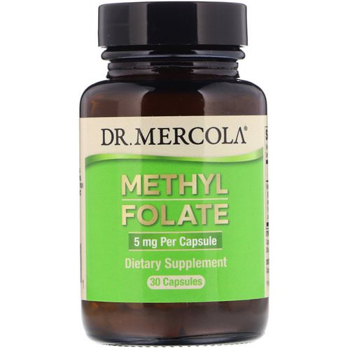 Dr. Mercola, Methyl Folate, 5 mg, 30 Capsules Review