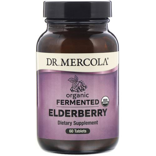 Dr. Mercola, Organic Fermented Elderberry, 60 Tablets Review