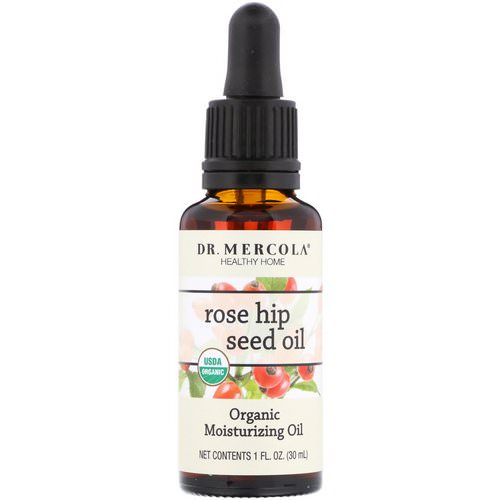 Dr. Mercola, Organic Moisturizing Oil, Rose Hip Seed Oil, 1 fl oz (30 ml) Review