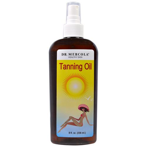Dr. Mercola, Tanning Oil, 8 fl oz (236 ml) Review