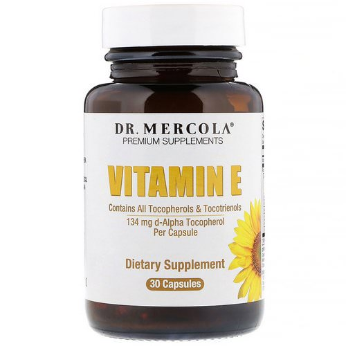 Dr. Mercola, Vitamin E, 30 Capsules Review