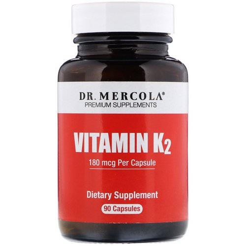 Dr. Mercola, Vitamin K2, 180 mcg, 90 Capsules Review