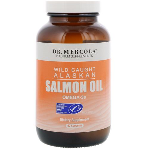 Dr. Mercola, Wild Caught Alaskan Salmon Oil, 90 Capsules Review