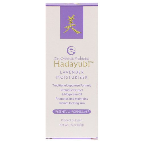 Dr. Ohhira's, Probiotic, Hadayubi Lavender Moisturizer, 1.5 oz (43 g) Review