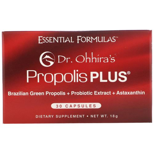 Dr. Ohhira's, Propolis Plus, 30 Capsules Review
