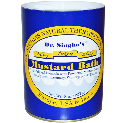 Dr. Singha's, Mustard Bath, 8 oz (227 g) Review