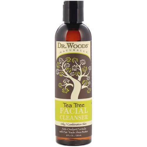 Dr. Woods, Facial Cleanser, Tea Tree, 8 fl oz (236 ml) Review
