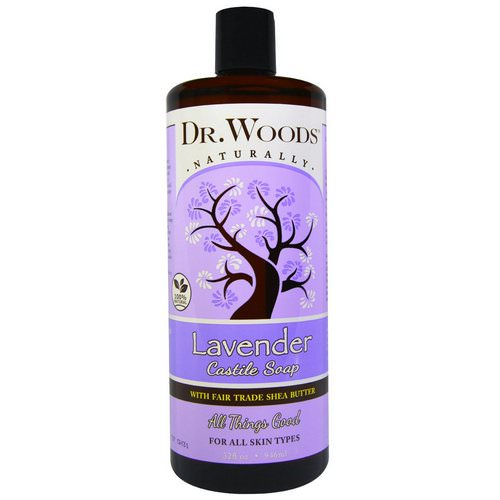 Dr. Woods, Lavender, Castile Soap, Fair Trade, Shea Butter, 32 fl oz (946 ml) Review