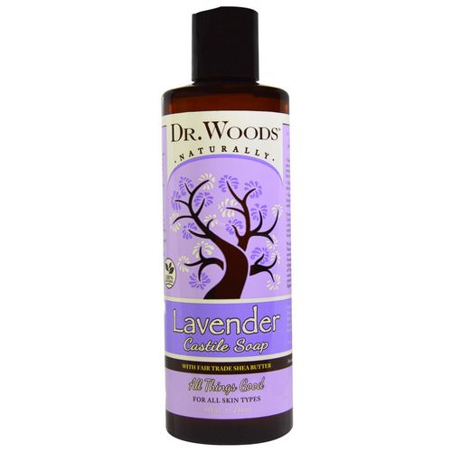 Dr. Woods, Lavender Castile Soap with Fair Trade Shea Butter, 8 fl oz (236 ml) Review